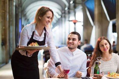 Hostessen Servicemitarbeiter Bedienung