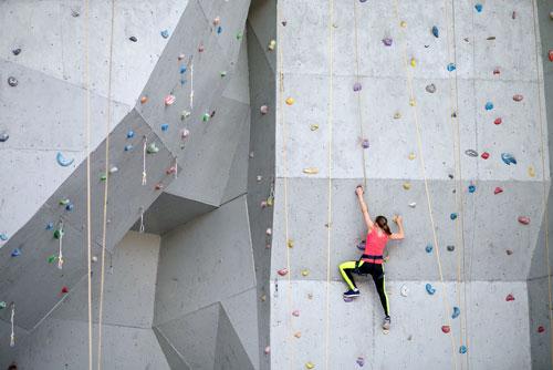 Location scouting Climbing Boldern