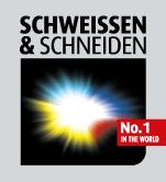 Schweißen & Schneiden fair logo