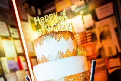 company anniversary confectioner's art