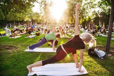 Konferenzen Pausengestaltung Yoga