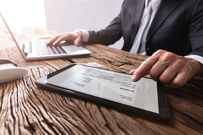 Participant management Invoicing