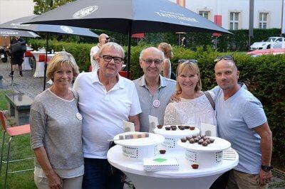 Company anniversary TEST chocolate tasting