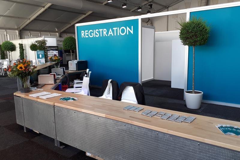 Akkreditierung Registrierung Hausmesse Kaltenbach Referenzbild