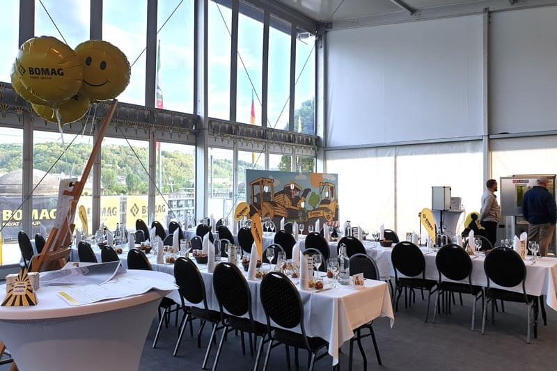 Location Event Seating Fair Bomag