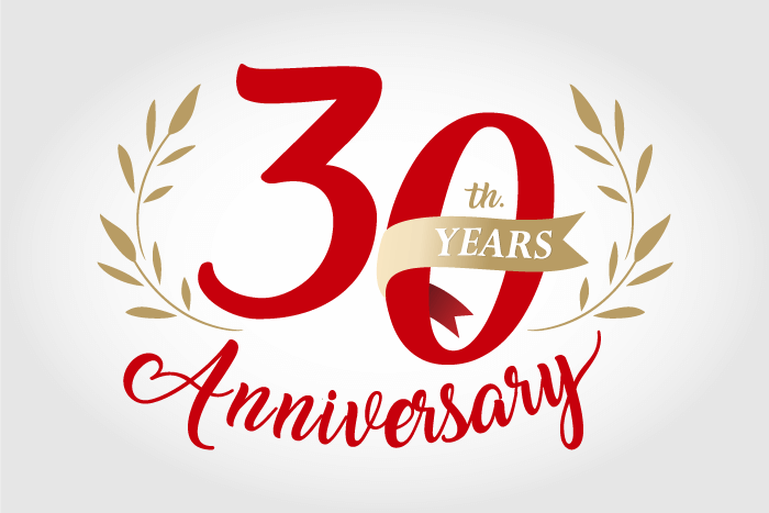 TEST 30th Anniversary Graphic Design